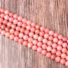 Hot Sale Natural Stone Natural Redstone Beads 15.5 Pick Size: 4 6 8 10 mm fit Diy Charms Beads Jewelry Making Accessories