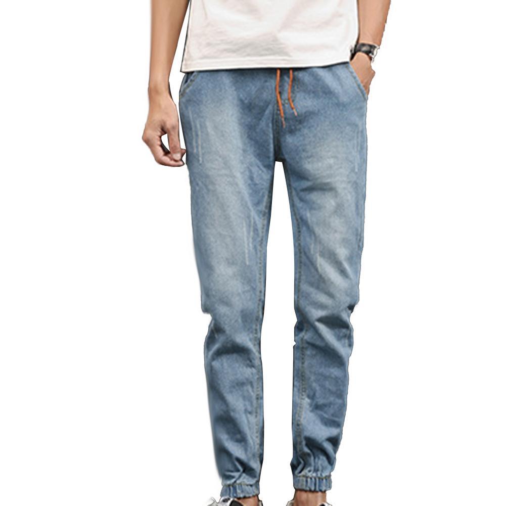 2019 Nuevos Jeans De Algodón De Otoño Jeans Suaves De Alta Calidad Para Hombres Jeans De Moda De Gran Tamaño 5XL