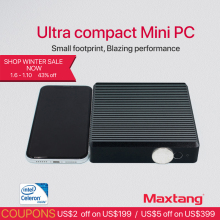 Maxtang Linux Mini PC Computer Intel Celeron J1900