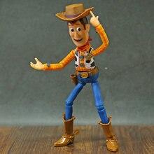 Toy Story-figuras de acción de la serie reutech, Woody, Jessie, Buzz Lightyear, juguete coleccionable de PVC