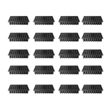 20Pcs/set 32/50 Holes High-footed Sowing NUrsery Pot Seedling Tray Plants Grow Kit