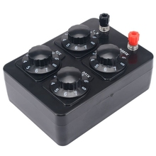Instrument Decade-Resistor Resistance-Box Variable Ohm YO-0-9999 Teaching Precision Hot