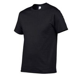 T-shirt men soft cotton material simply style tshirt