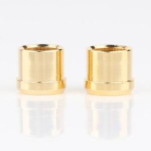 Image 3 - Preffair Mạ Vàng RCA Nắp Cắm Ngắn Mạch Ổ Cắm Phono Cổng Kết Nối RCA Che Chắn Jack Cắm Ổ Cắm Bảo Vệ Bao Mũ Lưỡi Trai