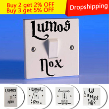New Lumos Nox Cartoon DIY Wall Stickers for Kids Bedroom Living Room  wall decor room decoration Sticker Home Decor