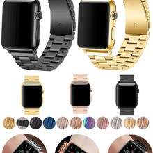 Band For Apple Watch6 5 4 3 2 1 42mm 38mm 40MM 44MM Metal Stainless Steel Watchband Bracelet