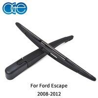 Oge premium braço e lâmina de limpador traseiro para ford escape 2008 2009 2010 2011 2012 brisa do carro acessórios automóveis