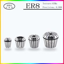 1pcs ER8 chuck collet precision 0.008 high precision CNC lathe milling cutter chuck 3.175mm 1~5mm collet Engraving machine