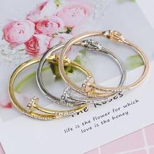 Fashion nail bracelet female jewelry popular jewelry metal bracelet European and American bracelet