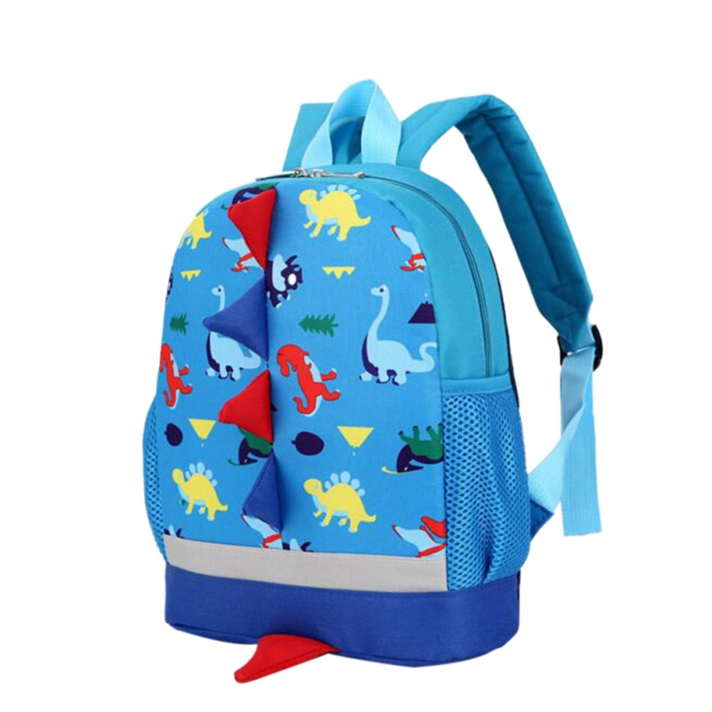 Baby Girls Bag Backpacks Large Capacity Waterproof Bag Backpack Cartoon Dinosaur Toddler Outgoing Bags