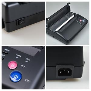 Image 4 - Impressora térmica da copiadora da máquina de transferência do fabricante do estêncil da tatuagem com presente 10 partes papéis