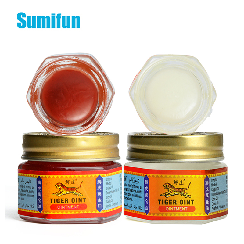 Arthritis Rheumatism Tiger Balm Ointment Joint Muscle Rub Aches Pain Relief Cream Cooling Oil For Itching Chinese Herbal P0050