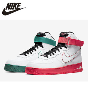 NIKE Skateboarding-Shoes Gym-Sneakers Basketball-Sports High-Af1 Air-Force-1 New-Arrival