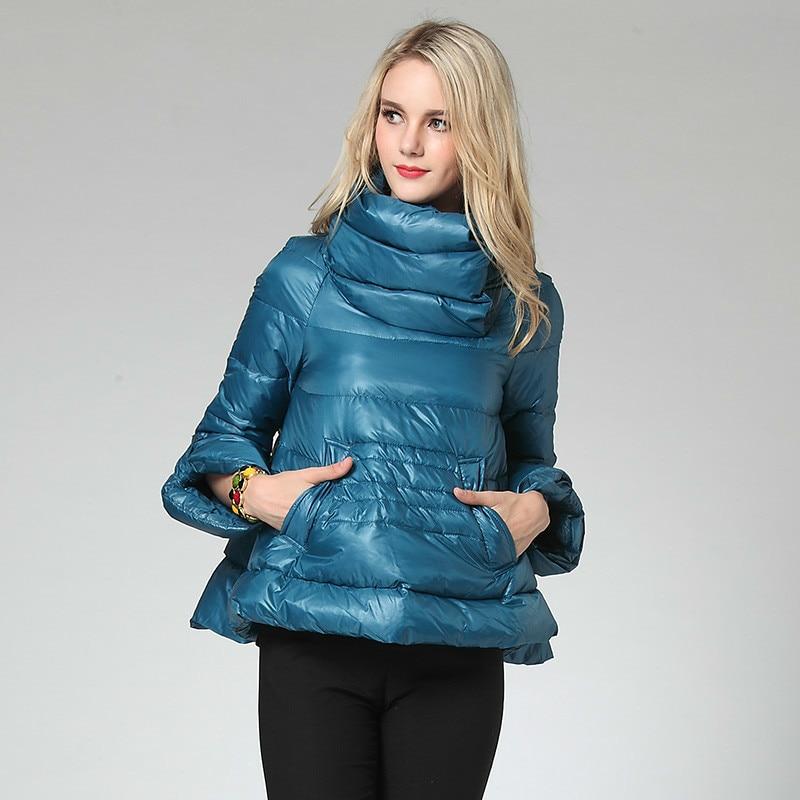 2020 New Short Women's Down Jacket White Duck Down Coat Korean Light Womens Coats Winter Autumn YD-15083002 KJ3741