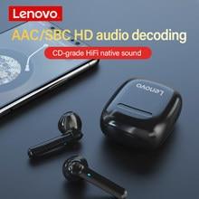 Lenovo XT89 słuchawki bluetooth HIFI jakość dźwięku TWS słuchawki bezprzewodowe SBC HD dekodowanie dźwięku zestaw słuchawkowy z redukcją szumów z Mi