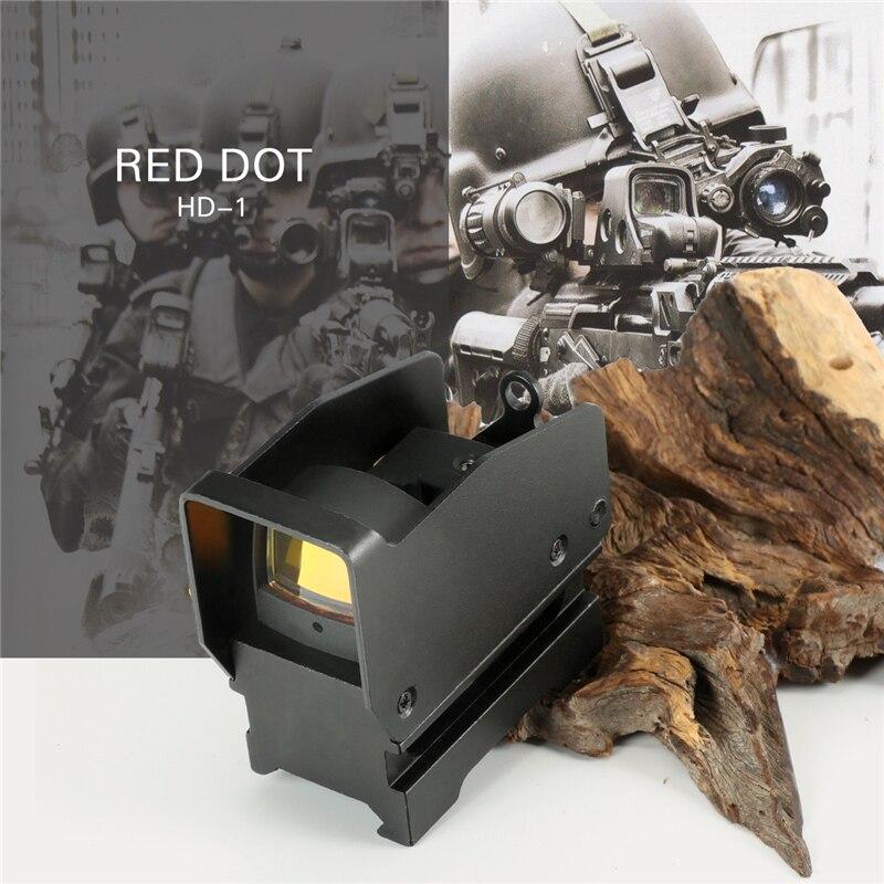 Hunting Optics BSA DH-1 Red Dot Sight Scope Tactical Optics Riflescope Fit 20mm Rail Rifle Scopes For Hunting Rifle Scope