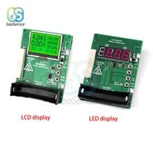 LCD/LED Display Battery Capacity Tester MAh MWh 18650 Lithium Battery Digital Measurement Lithium Battery Power Detector Module