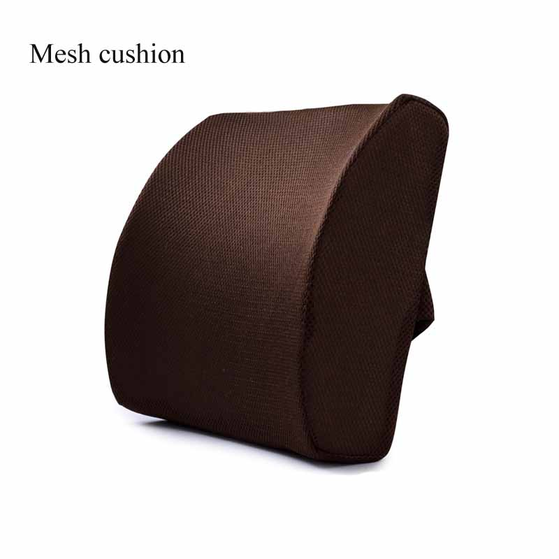 He3b3cfb352a341f7b3a98ba51f054acej Car Seat Cushion Coccyx Orthopedic Memory Foam Seat Massage Chair Back Cushion Pad Office Massage Cushion