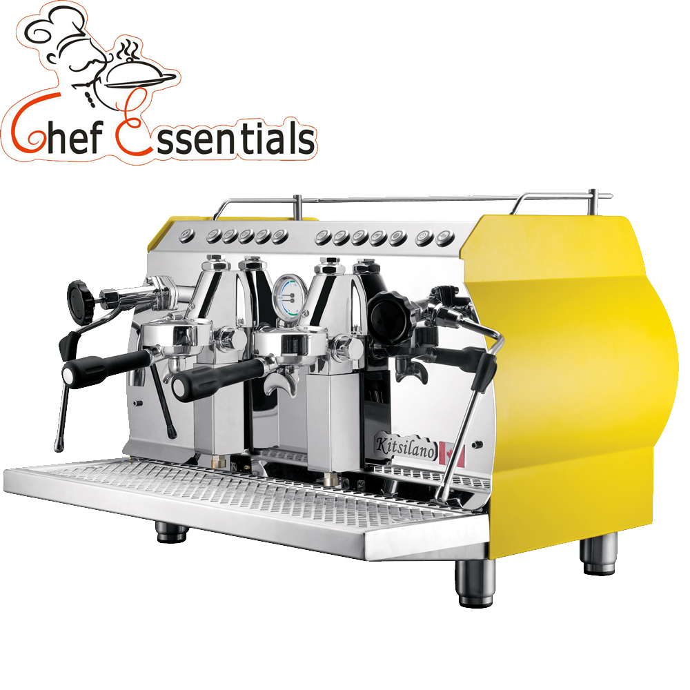 Chef Essentials Commercial Coffee Machine 2 Coffee Brewing Holders  For Coffee Shop