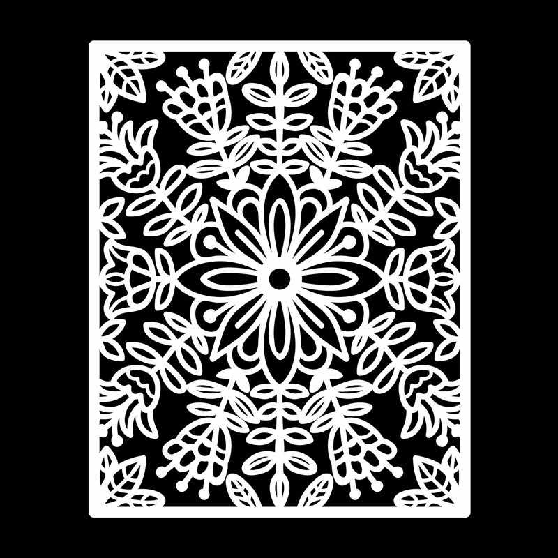 Kokorosa กรอบตายพื้นหลังดอกไม้ตัดโลหะตายใหม่ 2019 สำหรับทำบัตร Scrapbooking Dies ลายนูนกระดาษ Stencil