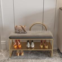 Shoe-Stool Entry Simple Luxury Door Bed Home Light Ou Sit-On Long