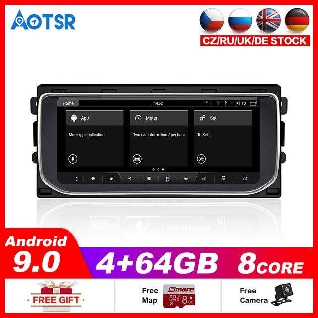 Aotsr Car dvd gps Navi Player for Land Rover Range Rover Sport L494 2013 2018 Stereo GPS DVD Radio NAVI Navigation Android DSP
