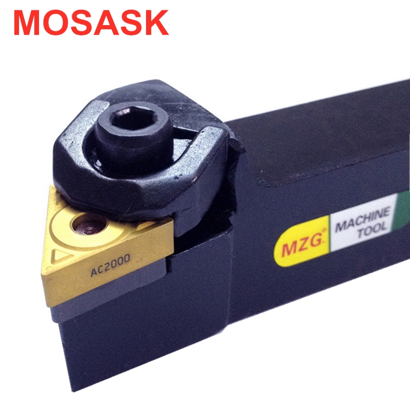 MOSASK WTJNR 2020 16 25 Machining Cutting Metal TNMG <font><b>1604</b></font> <font><b>Insert</b></font> Toolholder Boring Cutter CNC Lathe External Turning Tools image