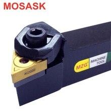 WTJNR MOSASK 2020 16 25 TNMG 1604 Inserção Toolholder Chato Cortador de Metal De Corte De Usinagem CNC Torno Ferramentas de Torneamento Externo