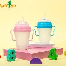 Silicone Baby Bottle Baby Milk Silicone Feeding Bottle Kids