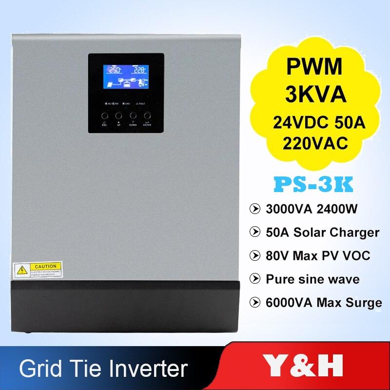 Y&H 3000W 24V Pure Sine Wave Off ...