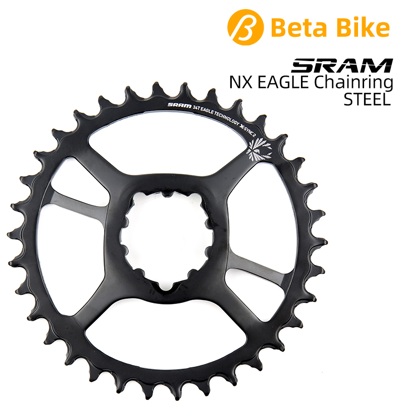 SRAM 12S 12 Speed NX SX EAGLE Chainring 30T 32T 34T Steel Chain Wheel separate from crankset 6mm 3mm offset BOOST image