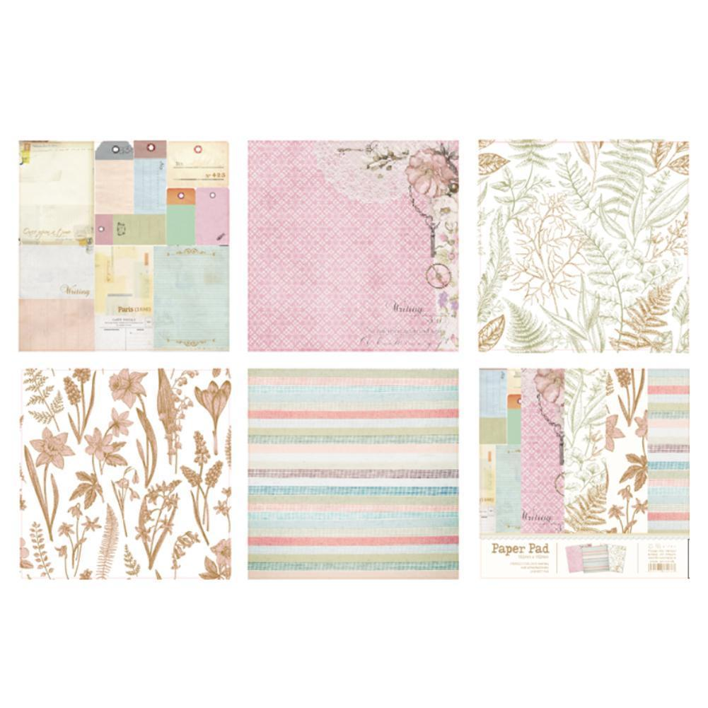 New Design 10 Sheets Lovely Series Material Paper Set Photo For Scrapbooking Card Crafts Album Projects DIY Making O3B6