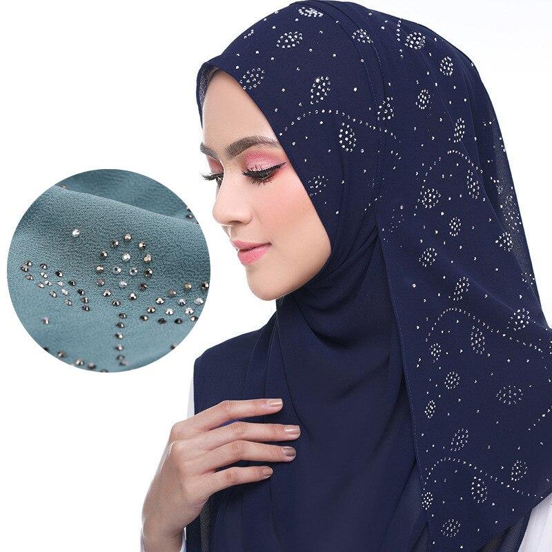 Summer muslim women chiffon hijab / scarf Women's Scarf