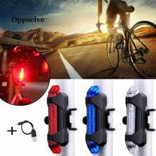 Bicycle-Accessories USB Battery Cycling-Lamp Taillight Night-Riding Rechargeable LED