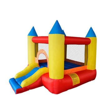 Large Inflatable Bounce House Jumper Playground Kids Play Castle Oxford Cloth Trampoline With Slide Jumping Bouncer for Children