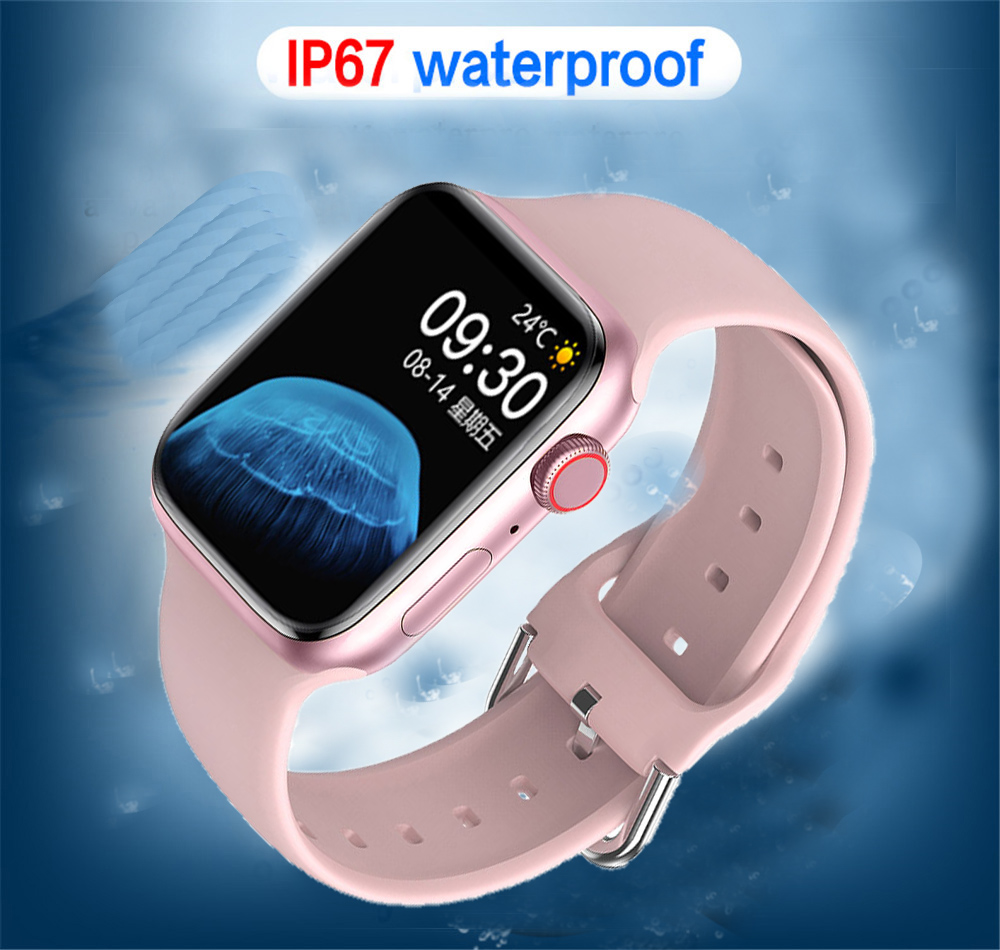 He3b5166d161d480ea5432b0608773e1bB 2021 HW22pro Smart Watch Men Women Split Screen Display Original Smartwatch Body Temperature Monitor BT Call For Android IOS IWO