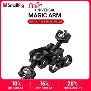 Image 1 - SmallRig DSLR Camera Articulating Magic Arm with Double Ballheads (1/4'' & 3/8'' Screws) Adjustable Articulated Arm 2212