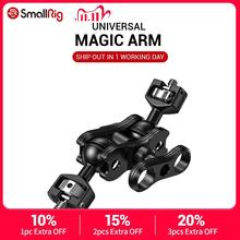 Smallrig Dslr Camera Articulating Magic Arm Met Dubbele Balhoofden (1/4 En 3/8 Schroeven) verstelbare Gelede Arm 2212