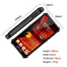 Neue F150 B2021 IP68/69K SmartPhone 6GB + 64GB 8000mAh Octa Core-Handy NFC 5.86 ''HD + MediaTek Helio G25 13MP Kamera Telefon
