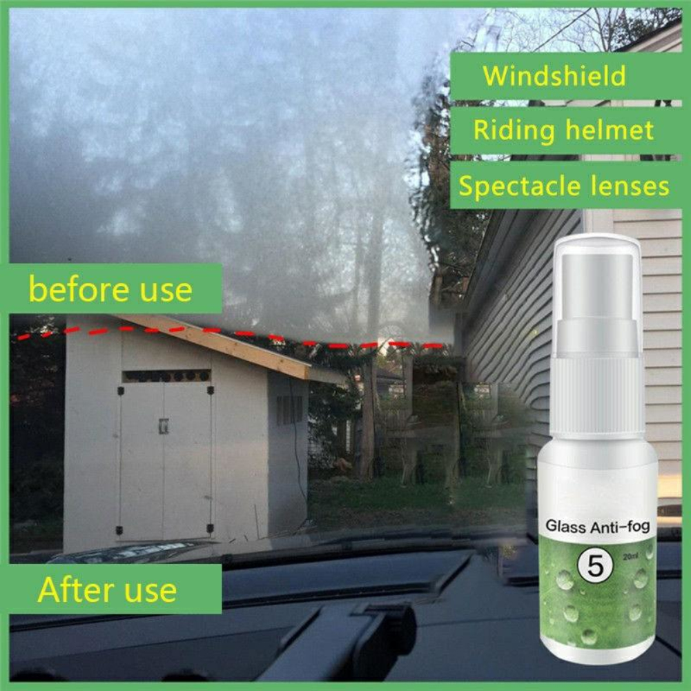 HGKJ(5) 20ml Automotive Glass Antifogging Agent Glasses Helmet Defogging Agent Coating Anti-fog Agent