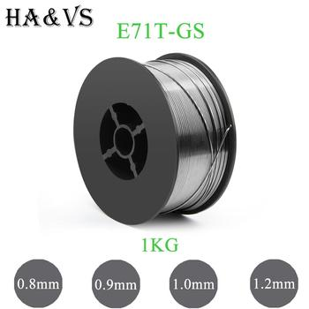 1KG 2 2LBS MIG E71T-GS bezgazowy strumień rdzeniowy drut elektrodowy 0 8 0 9 1 0 1 2mm AWS A5 20 ASME SF A5 20 dla MIG spawacz narzędzie tanie i dobre opinie jinhu MIG welding wire Cyny 0 8mm 0 9mm 1 0mm 1 2mm 1KG 2 2LBS Mild Steel Round