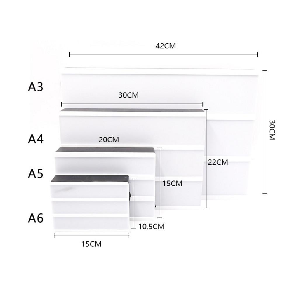A4 A5 A6 taille LED combinaison veilleuse boîte lampe bricolage noir/coloré lettres cartes USB AA batterie cinéma Lightbox blanc rose 5