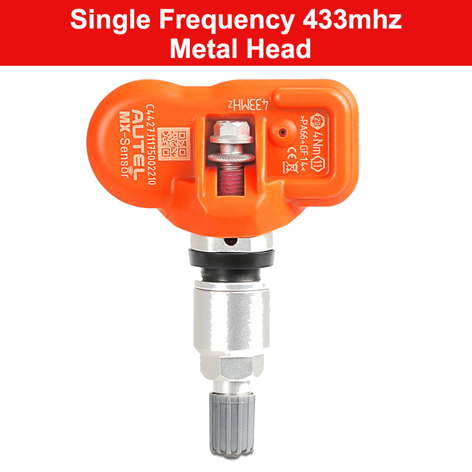 Image 2 - Autel MX sensor 315MHz 433MHz Tyre Pressure Sensor Programmable For Tire Pressure Universal TPMS Sensor MX Sensor Clone Learn-in Pressure & Vacuum Testers from Automobiles & Motorcycles