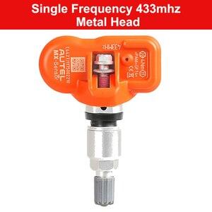 Image 2 - Autel MX sensor de presión de neumáticos programable, 315MHz, 433MHz, Sensor Universal TPMS, Sensor MX clon Learn