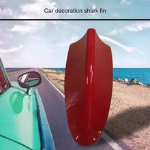 Aleta de tiburón para decoración de coche, accesorio especial para pegar en el techo del coche, sin punzonar