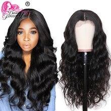Beauty Forever 13*4/6 cuerpo brasileño onda de encaje pelucas frontales Remy Peluca de pelo humano con pelo de bebé Pre desplumado 150% pelucas de densidad 180%
