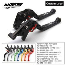 CNC Brake Clutch Levers Handle For Ducati Monster M400 M600  M620 M750 M900 ST2 ST4 S/ABS 748 916 900SS Motorcycle