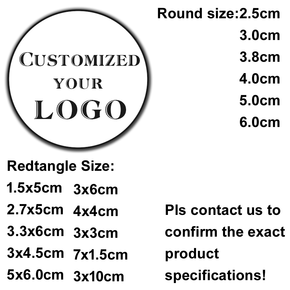 100pcs Custom LOGO  Wedding Sticker Personalized Design Your Label Self Adhesive Candy Gift Box Birthday Party Seal Stickers
