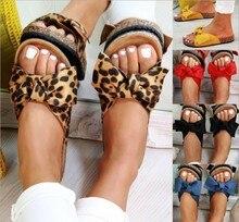 New Womans Slip On Sliders Bow Flatform Mule Summer Sandals Comfy Shoes Plus Sizes Indoor Outdoor Flip-flops Beach Shoes H60 faux pearl espadrille flatform sliders