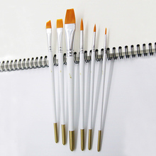 6pcs Colors Brush Pens Drawing Painting Watercolor Art Marker Pens School Supplies gouache acrylic wall painting